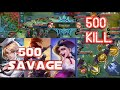500 KILL + SAVAGE , UNLIMITED ENERGI FANNY - MOD GM