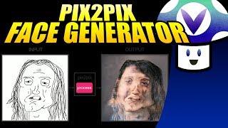 [Vinesauce] Vinny - Pix2Pix: Face Generator