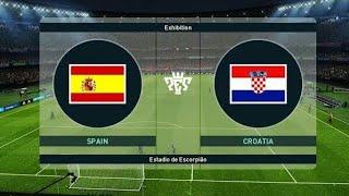Spain VS croatia live
