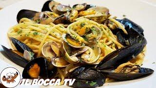 597 - Spaghetti ai frutti di mare..e poi sulle spiagge chiare! (primo di mare tipico e delizioso)