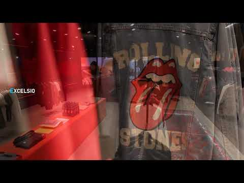 The Rolling Stones open a new store in London