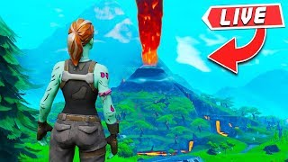 *NEW* VOLCANO EVENT HAPPENING RIGHT NOW! FORTNITE LIVE VOTING EVENT! (Fortnite Battle Royale LIVE)