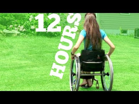 WHEELCHAIR FOR A DAY CHALLENGE