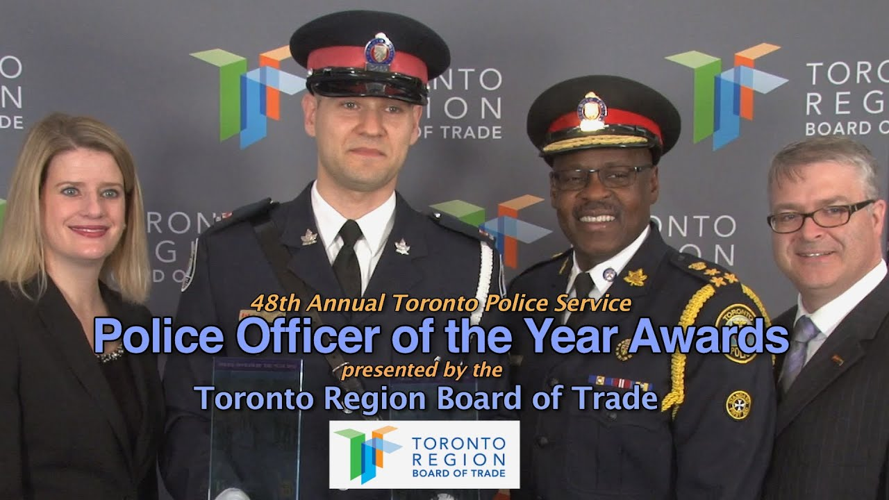 'Police Officer Of The Year' Award Announced by @TorontoPolice &  @TorontoRBOT