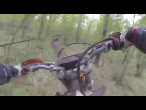 Michigan Single Track  Riding 2015