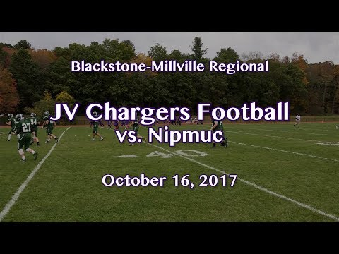 BMR | Boys JV Football vs. Nipmuc  10/16/17