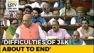 Article 370 Created Wall Between India And Kashmir, It Will Go: Amit Shah