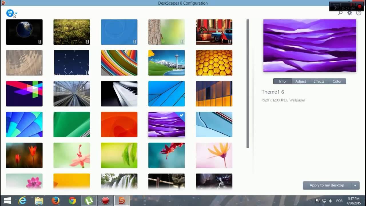 papel de parede animado para pc windows 8.1
