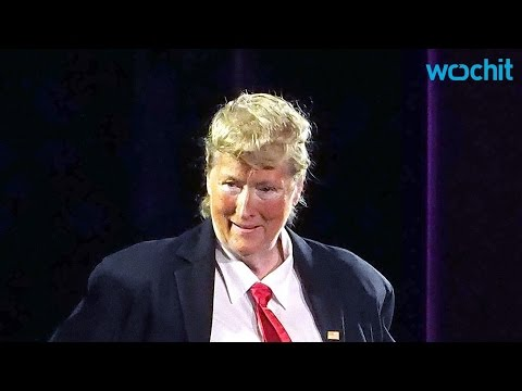 Meryl Streep Transforms Into Donald Trump