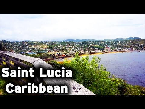 SAINT LUCIA CARIBBEAN | TRAVEL WITH ME |