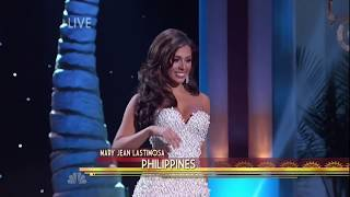 Miss Universe 2015 Evening Gown Competition (Top 10)