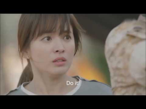 ◀KOREAN TV▶ SONG JOONG-KI Protects HYE-KYO In Danger - DESCENDANTS OF THE SUN