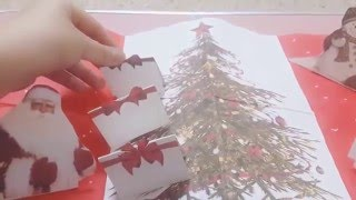 First time make christmas card