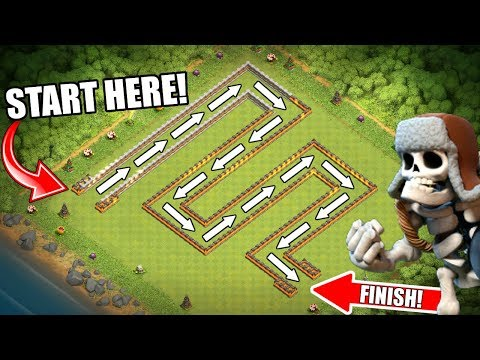 WORLDS LARGEST TROLL BASE BEATEN!!! - Clash Of Clans - GROUND BREAKING STRATEGY!