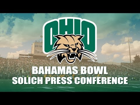 Ohio Football 2017: Frank Solich Press Conference 12/04