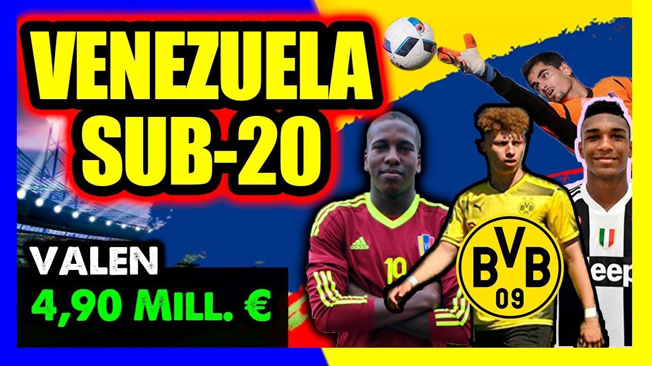 Sudamericano Sub 20 2019: Seleccion Venezolana Sub 20 Sudamericano 2019
