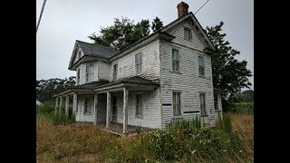 abandoned - country mansion - sold for millions!