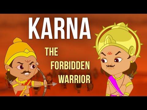 Karna The Forbidden Warrior   Tales of Mahabharata   Kurukshetra War   Animated Movie  Tamil Stories