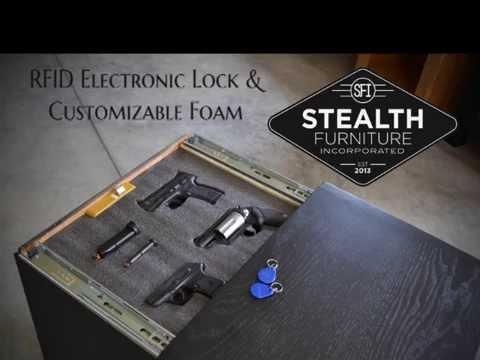 Secret Compartment Furniture RFID Lock & Foam