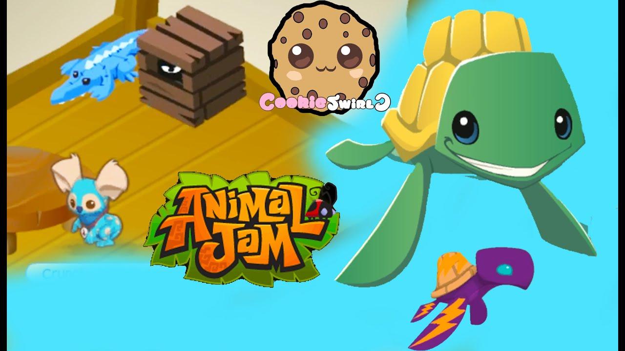 Cookieswirlc Plays Online ANIMAL JAM Gaming Video Creating Character
