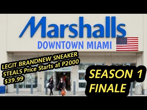 Marshalls Miami Stock Update | STEALS And Deals