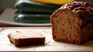 How To Make Gluten + Dairy Free Zucchini Bread