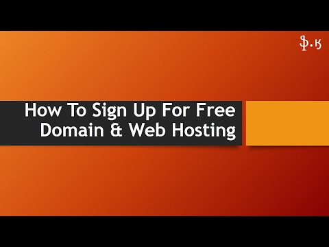 How To: Sign Up For Free Domain And Web Hosting (In Urdu)