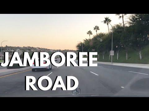 Driving Jamboree Rd In Irvine To Newport Beach In Mercedes-Benz
