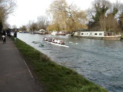 Lent Bumps 2009 Girton M1 Practice Start 1