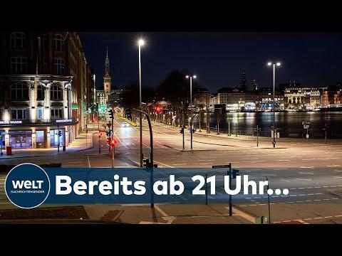 AUSGANGSSPERRE IN HAMBURG: Wie nehmen die Hamburger die nächtlichen Beschränkungen auf? I WELT News