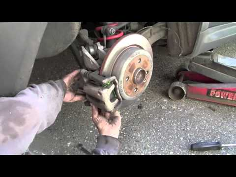 MINI Cooper  Replacing Rear Brake Pads  YouTube