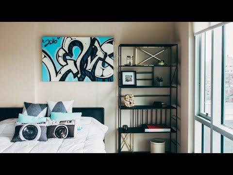 bedroom graffiti DIY