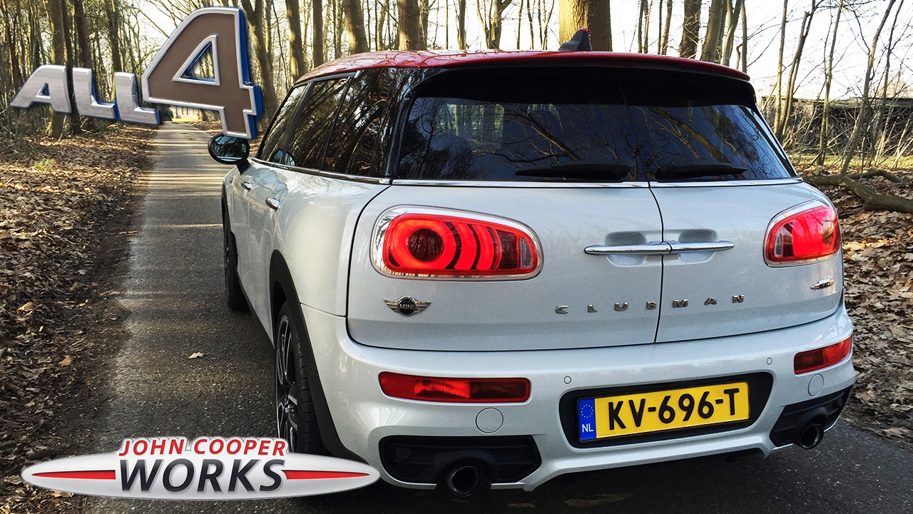 Mini Clubman Jcw Loud Exhaust Sound Revs By Autotopnl Youtube