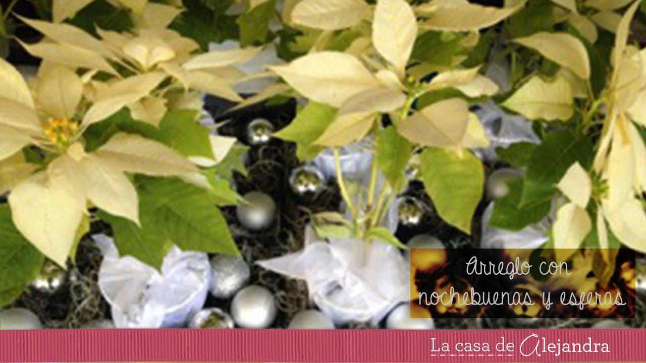 Elegante centro de mesa para navidad que te har quedar - Centros de mesa navidad 2014 ...