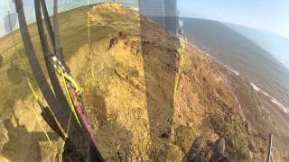 Paragliding on the Isle of Wight - Cliffrun Brighstone to Atherfield
