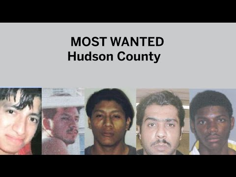 Most wanted in Hudson County