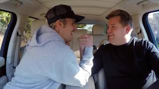 Justin Bieber carpool karaoke | 2020 James Corden