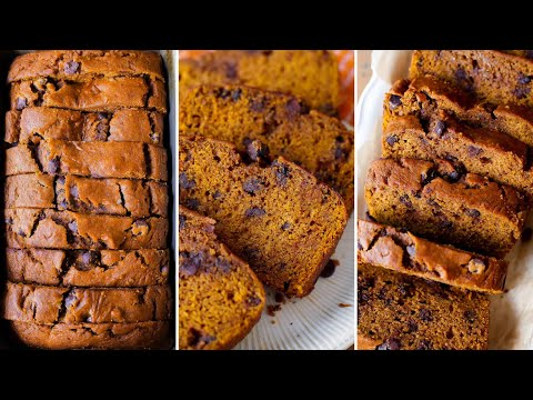Chocolate Nick Pumpkin Bread
