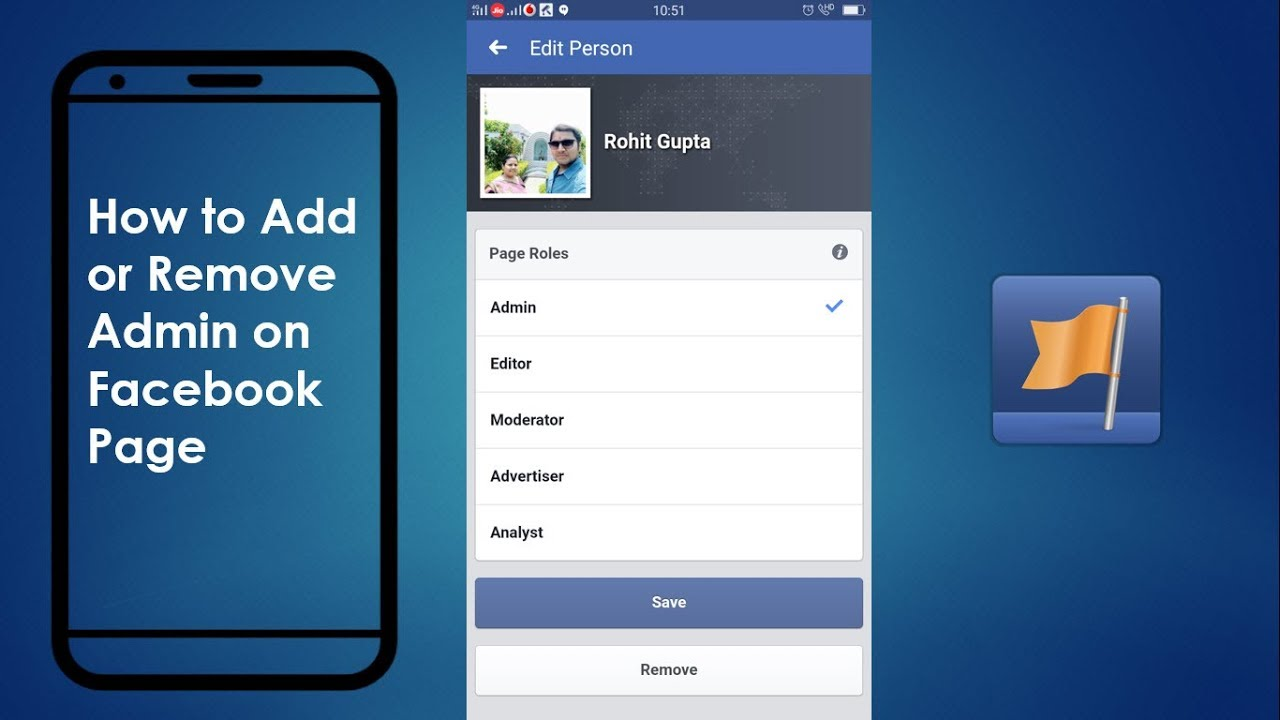 How to Add or Remove Admin on Facebook Page On Mobile 2019 (Easy)