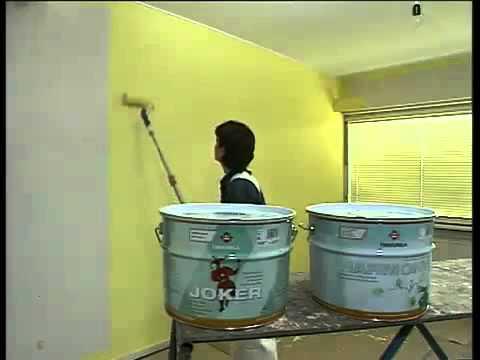 Покраска стен  полезные советы