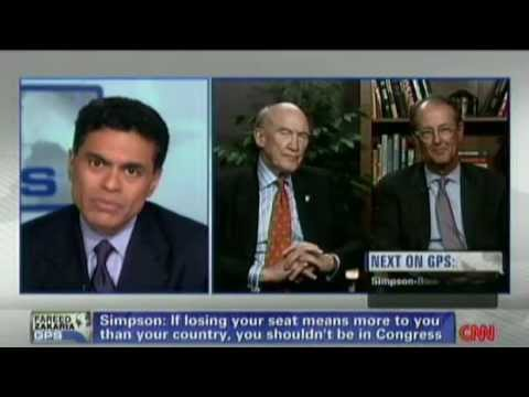 Alan Simpson Says Members of GOP Have Lost Their Common Sense
