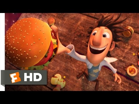 Cloudy with a Chance of Meatballs - It's Raining Burgers Scene (1/10) | Movieclips