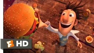 Cloudy with a Chance of Meatballs - It's Raining Burgers Scene (1/10) | Movieclips thumbnail