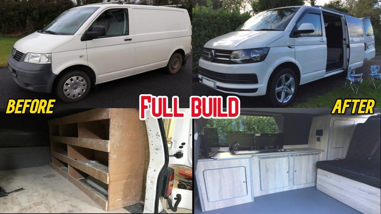 Volkswagen Camper Complete Van Build Start to finish