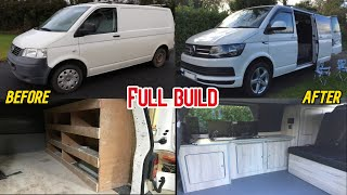 Volkswagen Camper Complete Van Build Start to finish