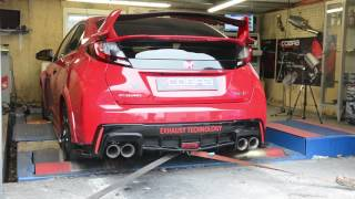 Rolling Road Testing - Honda Civic Type R (FK2) Cobra Sport Performance Exhaust