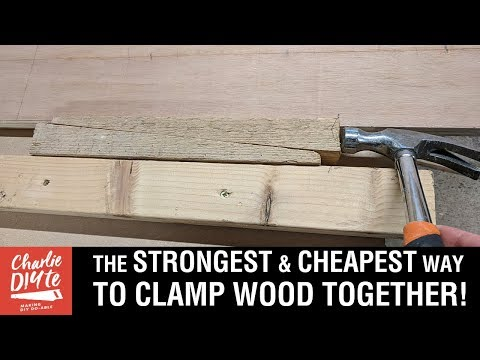 The STRONGEST and CHEAPEST Way to Clamp Wood Together - with a Wedge Clamp Board! Video 4/6