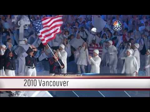 1936-2012: Team USA Celebrates Olympic Flag Bearers