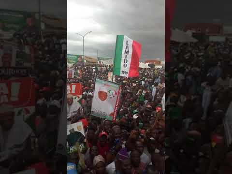 SOUTH WEST PDP MEGA RALLY IN OSHOGBO