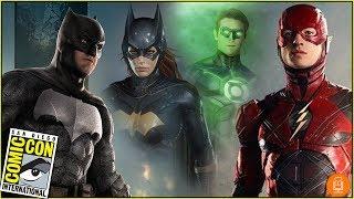 New DC Film Slate Announced at Comic-Con